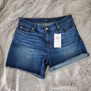 7 for all mankind shorts new!